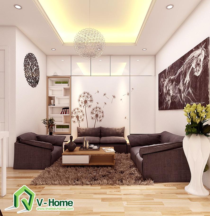 phong-khach-ket-hop-do-thong-minh-3 Giường thông minh + sofa V-Home - GS2D1620a