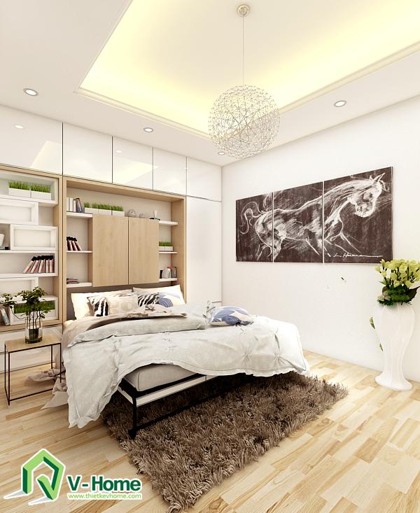 phong-khach-ket-hop-do-thong-minh-8 Giường thông minh + sofa V-Home - GS2D1620a