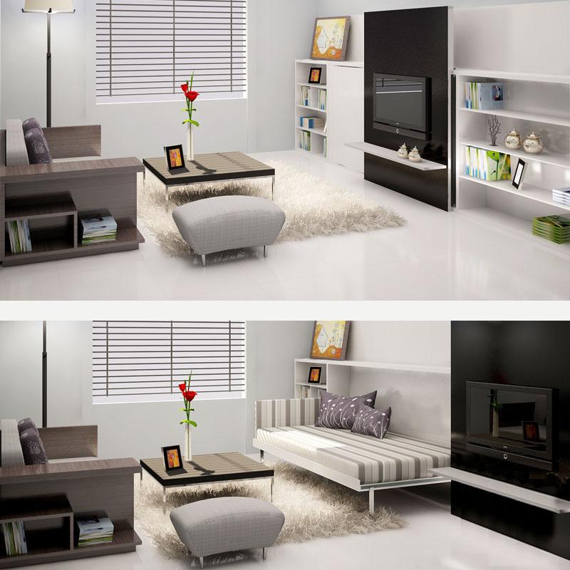 bo_suu_tap_comfy_3-copy Phòng khách kết hợp phòng ngủ sử dụng giường thông minh V-Home