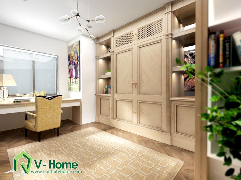 giuong-thong-minh-v-home-4 Phòng làm việc thông minh đa chức năng