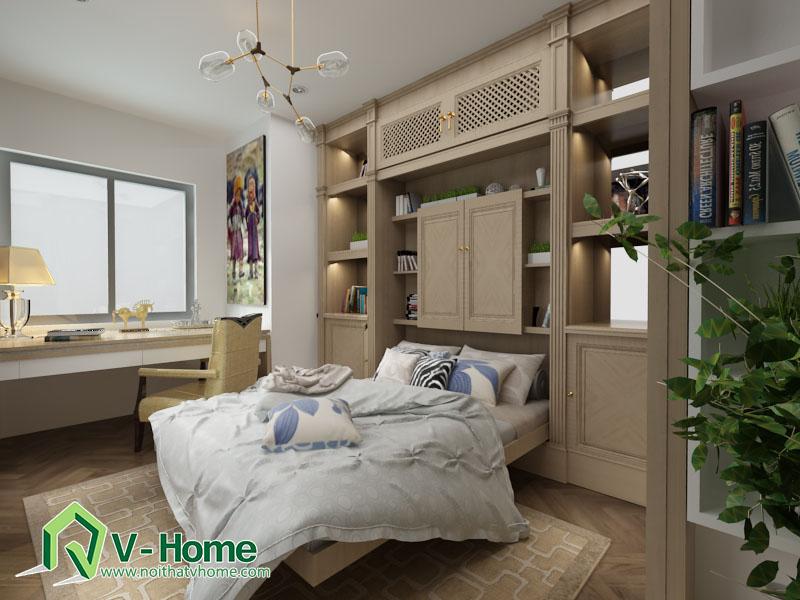 giuong-thong-minh-v-home-5 Phòng làm việc thông minh đa chức năng