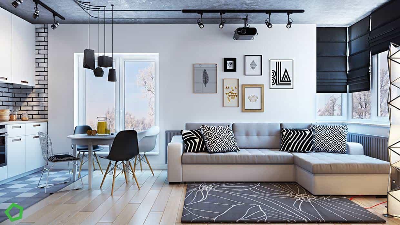 thiet-ke-noi-that-chung-cu-lang-ha-1 Thiết kế nội thất chung cư 75 m2 Láng Hạ - A. Minh