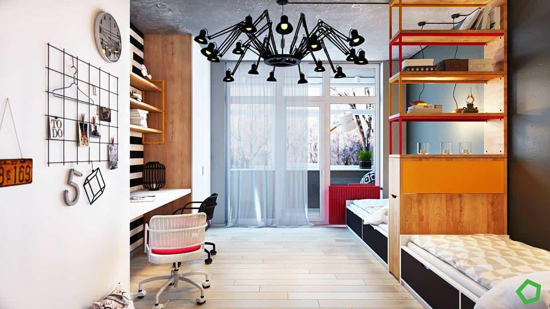 thiet-ke-noi-that-chung-cu-lang-ha-11 Thiết kế nội thất chung cư 75 m2 Láng Hạ - A. Minh