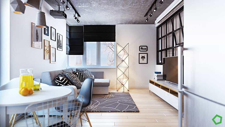 thiet-ke-noi-that-chung-cu-lang-ha-2 Thiết kế nội thất chung cư 75 m2 Láng Hạ - A. Minh