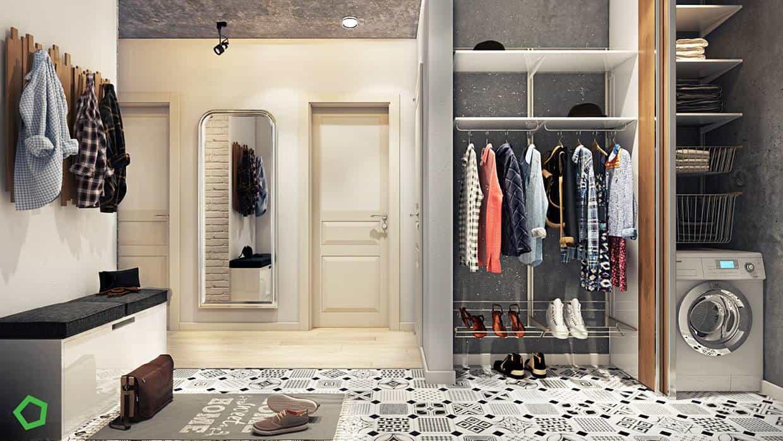 thiet-ke-noi-that-chung-cu-lang-ha-8 Thiết kế nội thất chung cư 75 m2 Láng Hạ - A. Minh