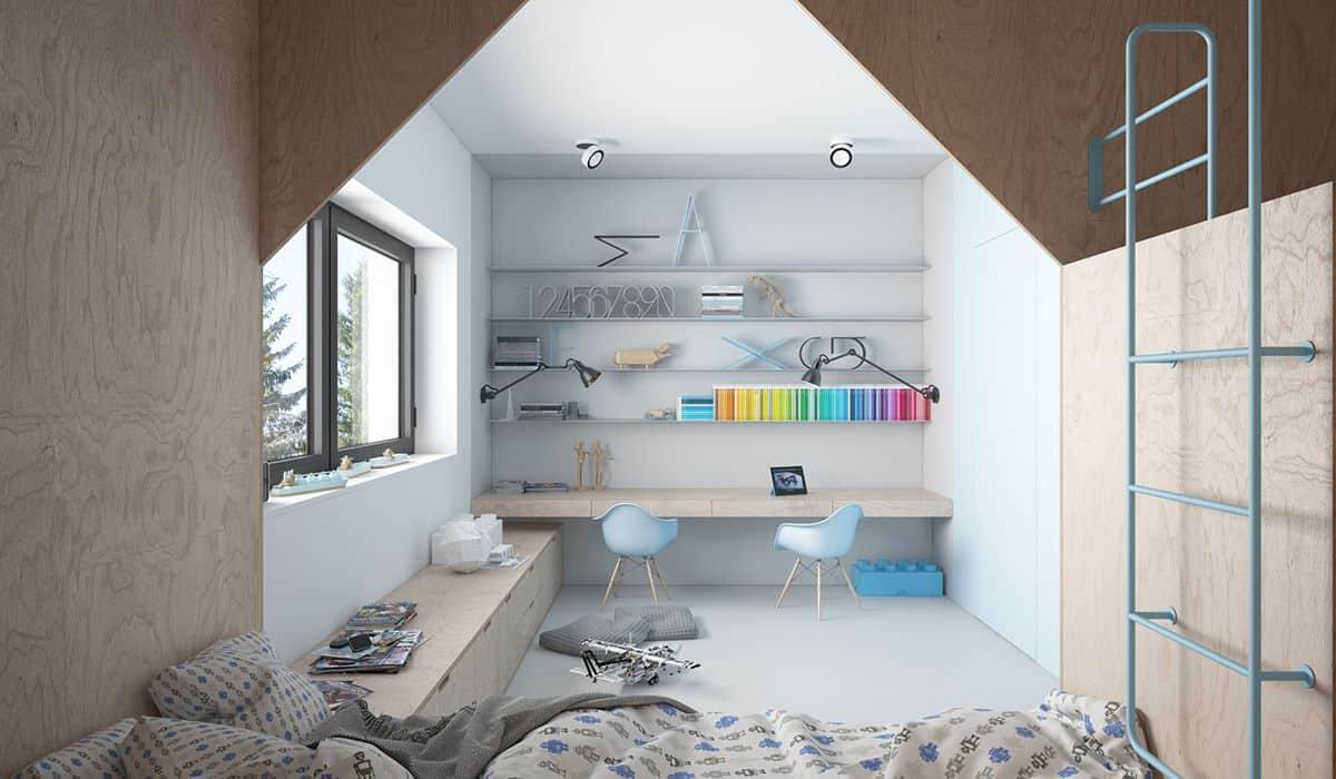 thiet-ke-phong-ngu-tre-em-chung-cu-khuong-mai-4 Thiết kế nội thất phòng bé trai chung cư Khương Mai - A. Nguyên