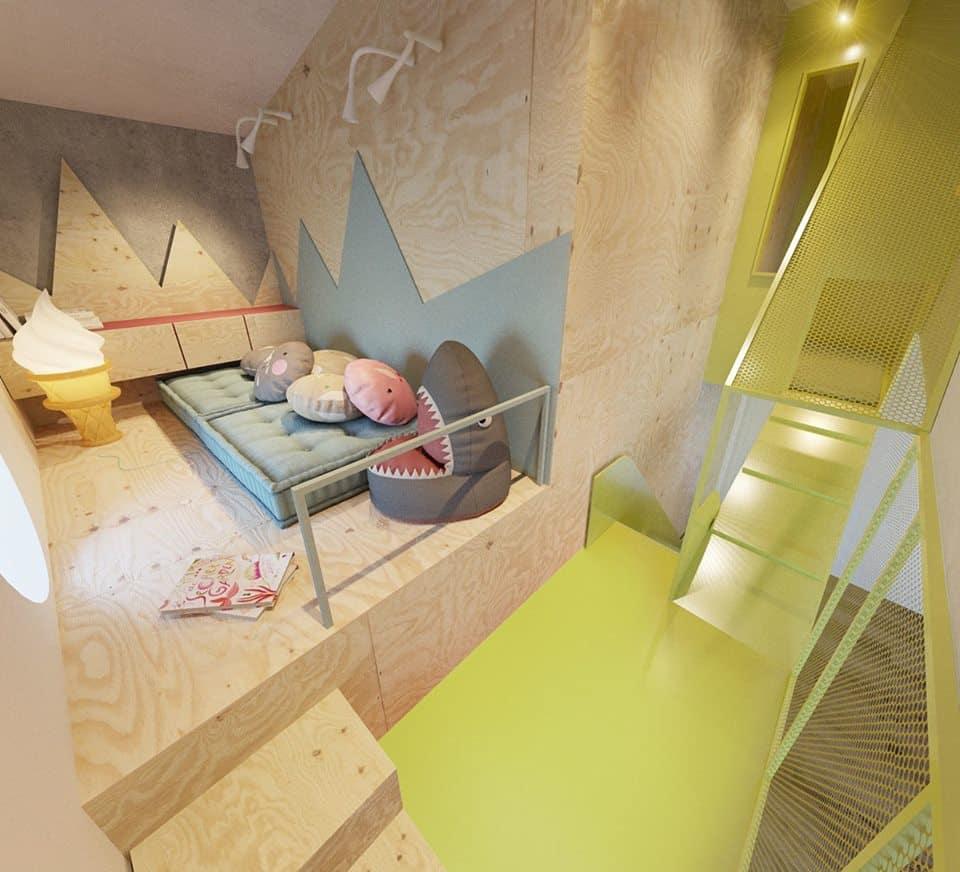 thiet-ke-phong-ngu-tre-em-chung-cu-trung-van-2 Thiết kế nội thất phòng ngủ trẻ em chung cư Trung Văn - A. Điển