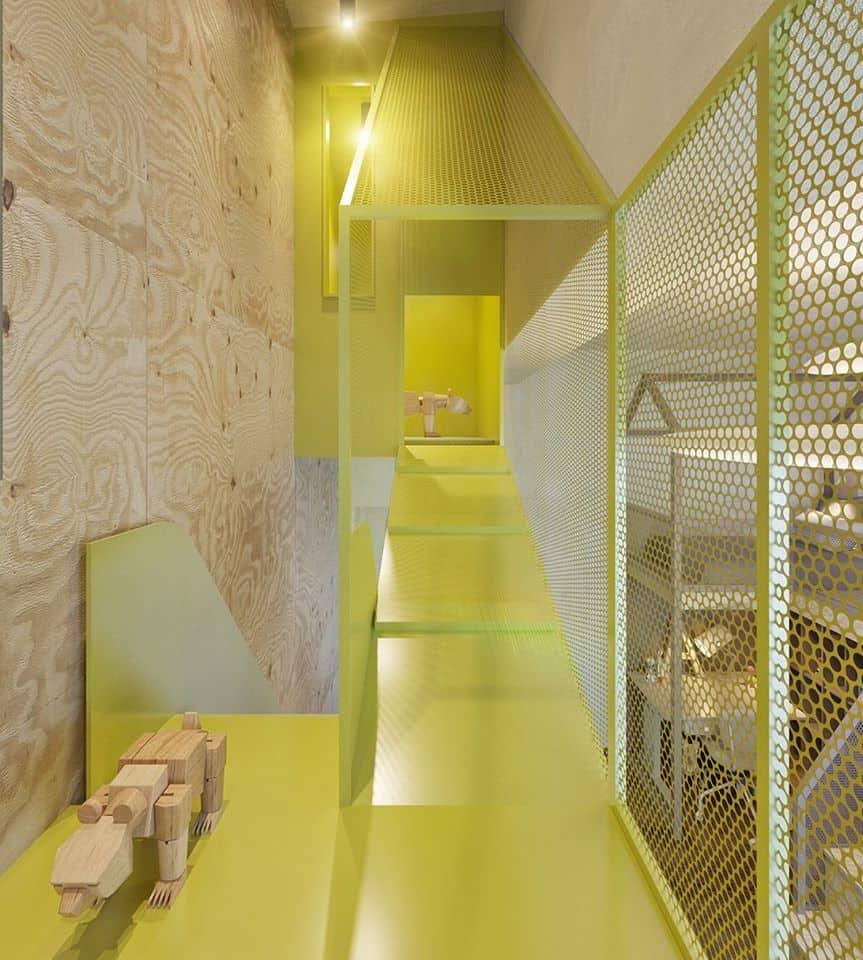 thiet-ke-phong-ngu-tre-em-chung-cu-trung-van-3 Thiết kế nội thất phòng ngủ trẻ em chung cư Trung Văn - A. Điển