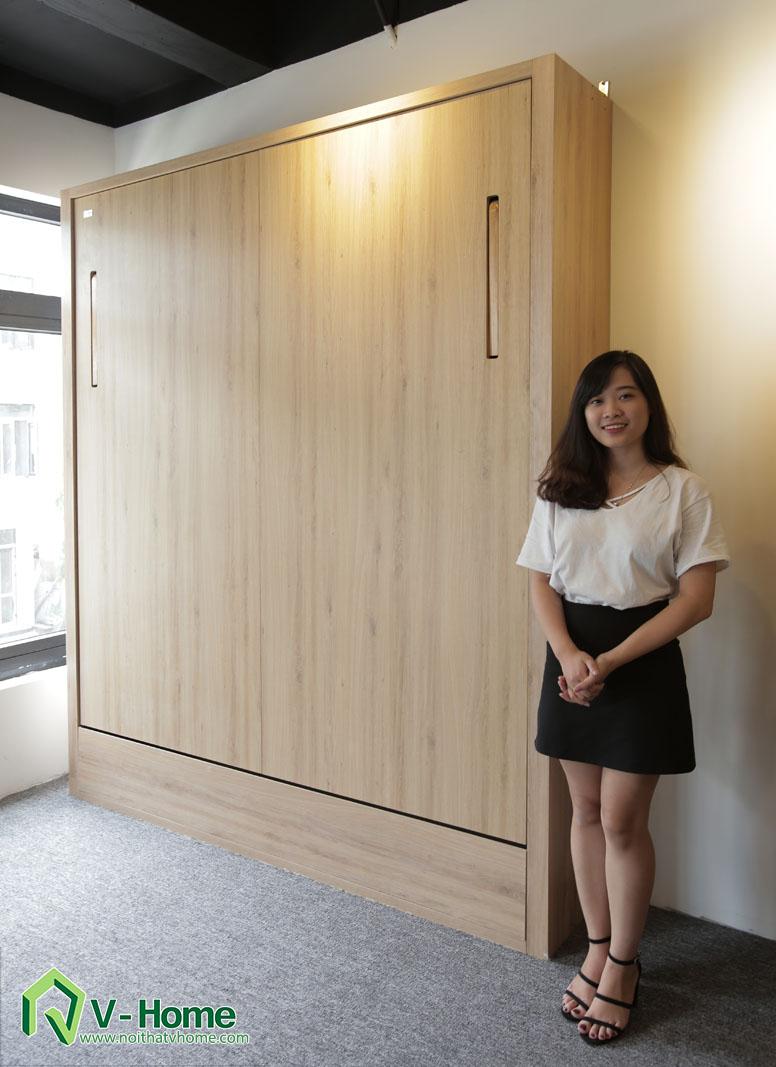 giuong-1.6-1 Giường thông minh V-Home - 1,8mx2m - G2D1820a