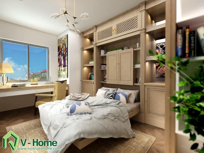 thiet-ke-noi-that-chung-cu-ha-do-park-view-13 Thiết kế nội thất chung cư Hà Đô Parkview - C. Hiền