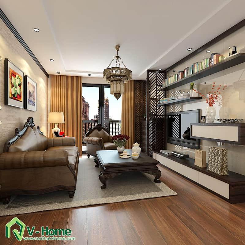 thiet-ke-noi-that-chung-cu-ha-do-park-view-2 Thiết kế nội thất chung cư Hà Đô Parkview - C. Hiền