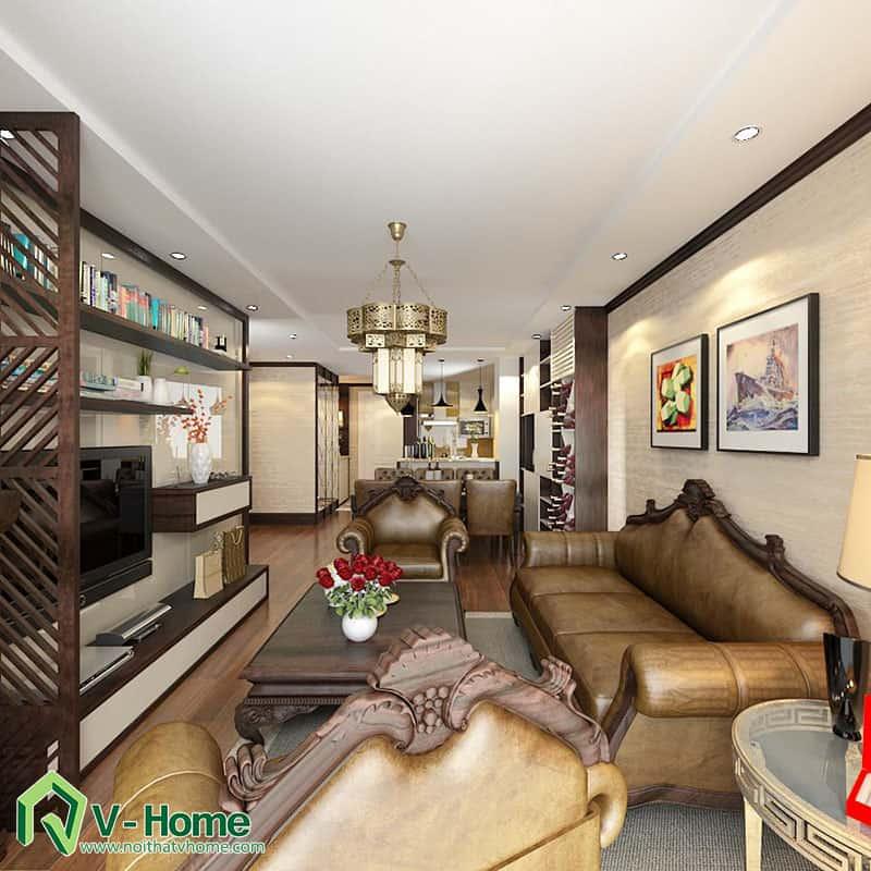 thiet-ke-noi-that-chung-cu-ha-do-park-view-3 Thiết kế nội thất chung cư Hà Đô Parkview - C. Hiền