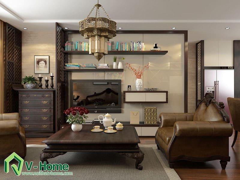 thiet-ke-noi-that-chung-cu-ha-do-park-view-5 Thiết kế nội thất chung cư Hà Đô Parkview - C. Hiền