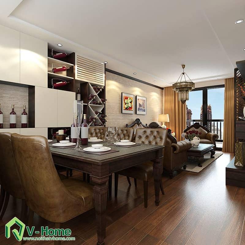 thiet-ke-noi-that-chung-cu-ha-do-park-view-8 Thiết kế nội thất chung cư Hà Đô Parkview - C. Hiền