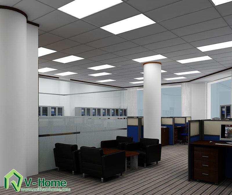 Van-phong-MB-bank-2 Thiết kế văn phòng Ngân hàng Quân Đội - MB Bank