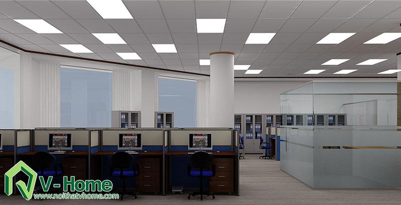Van-phong-MB-bank-3 Thiết kế văn phòng Ngân hàng Quân Đội - MB Bank