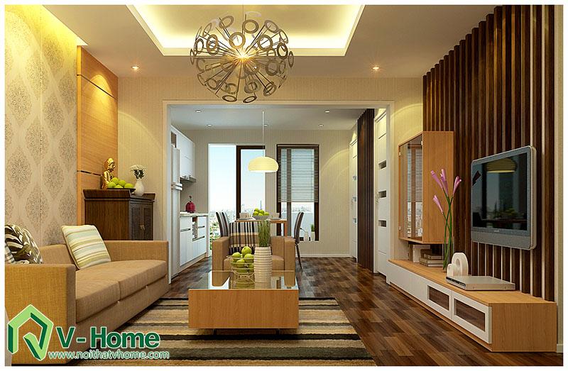 khach-nha-anh-long-260-doi-can Thiết kế nội thất nhà tập thể 260 Đội Cấn - A. Long