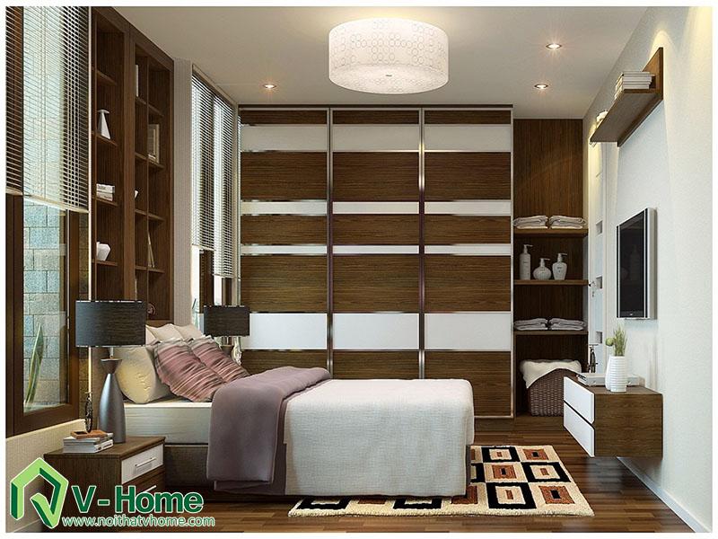ngu-nha-anh-long-260-doi-can-4 Thiết kế nội thất nhà tập thể 260 Đội Cấn - A. Long