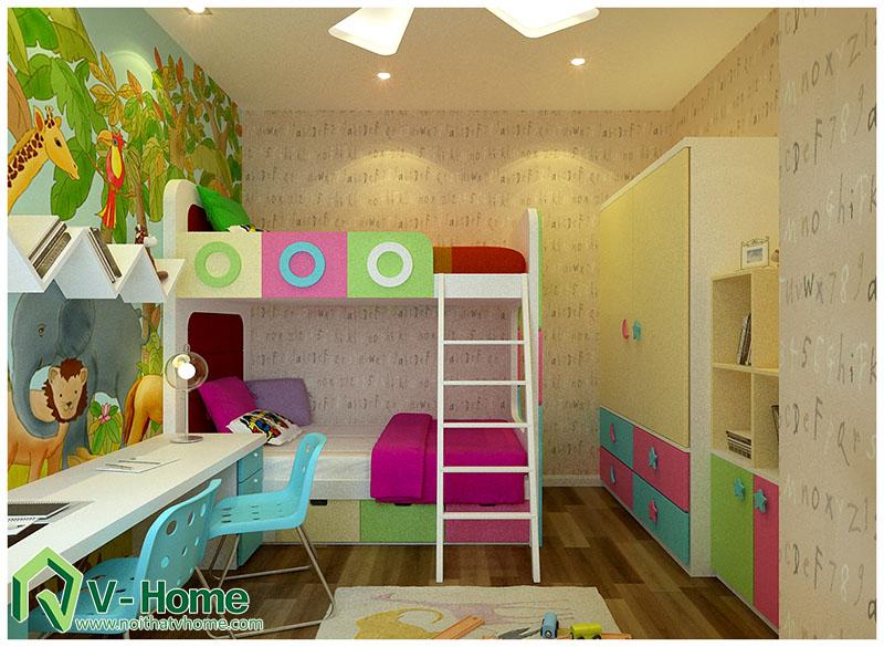 ngu-nha-anh-long-260-doi-can-8 Thiết kế nội thất nhà tập thể 260 Đội Cấn - A. Long