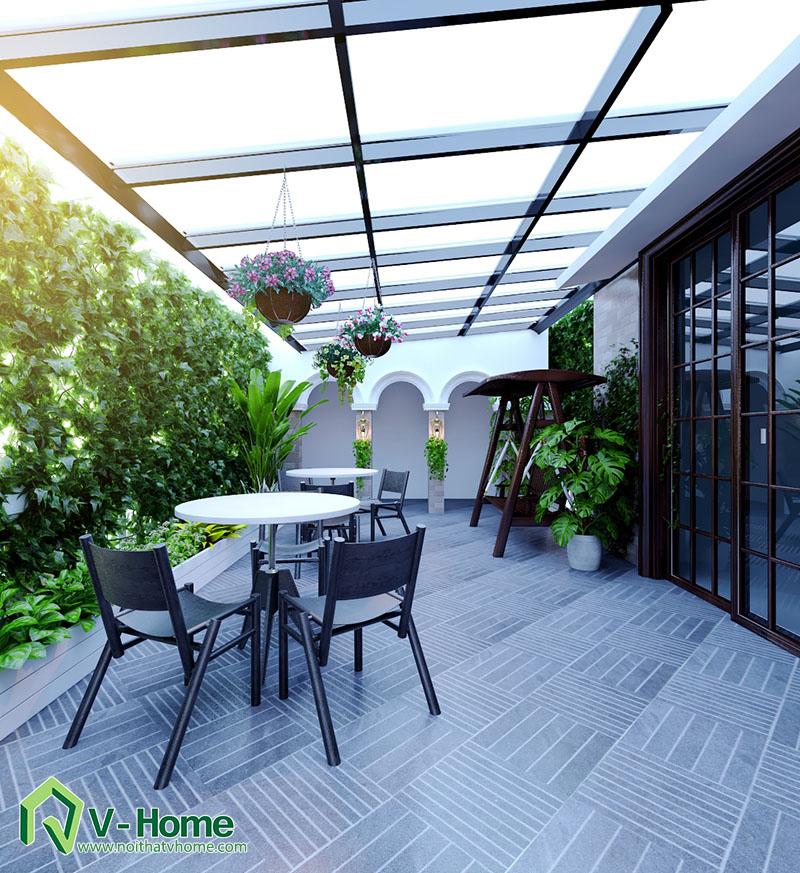 thiet-ke-biet-thu-to-ngoc-van-12 Thiết kế nội thất biệt thự Tô Ngọc Vân - Tây Hồ