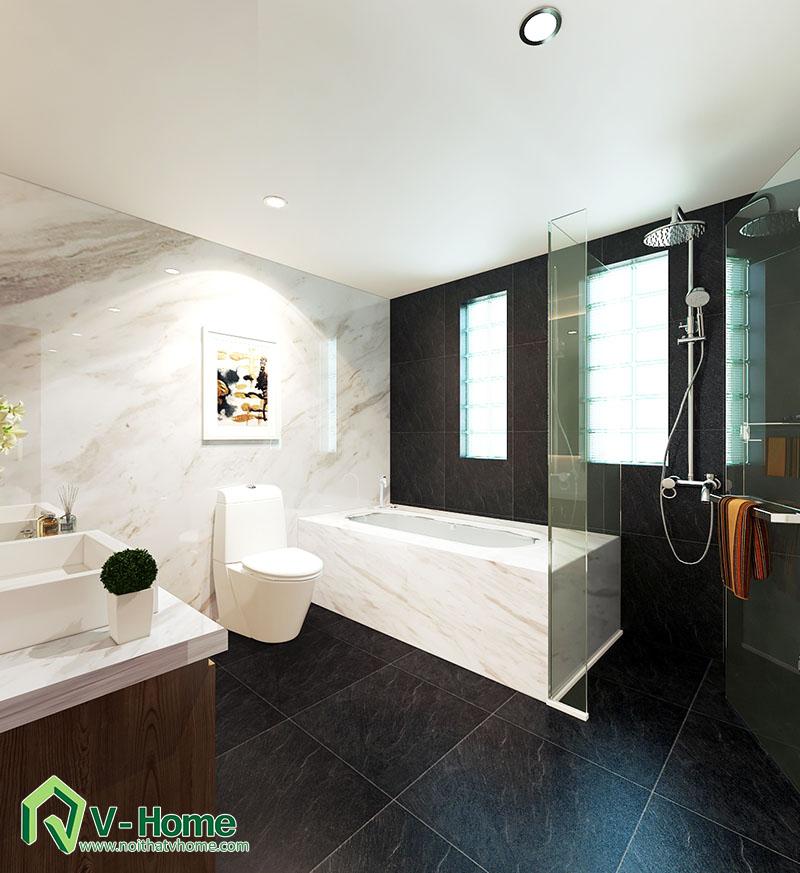 thiet-ke-biet-thu-to-ngoc-van-4 Thiết kế nội thất biệt thự Tô Ngọc Vân - Tây Hồ