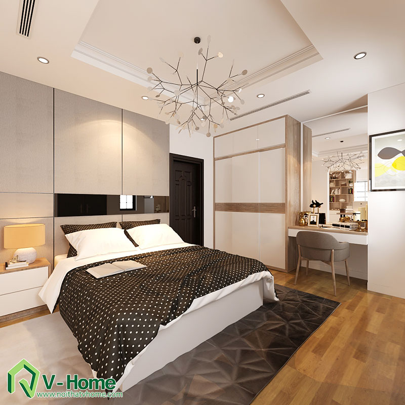 thiet-ke-biet-thu-to-ngoc-van-6 Thiết kế nội thất biệt thự Tô Ngọc Vân - Tây Hồ