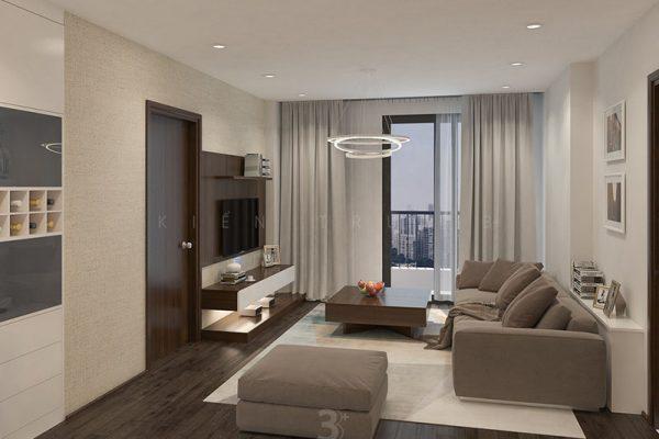 Thiết kế nội thất chung cư Park Hill - A. Nhật