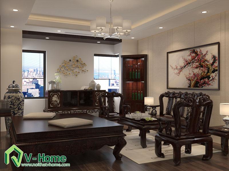 thiet-ke-kien-truc-noi-that-biet-thu-van-phu-7 Thiết kế kiến trúc, nội thất biệt thự Khu đô thị mới Văn Phú