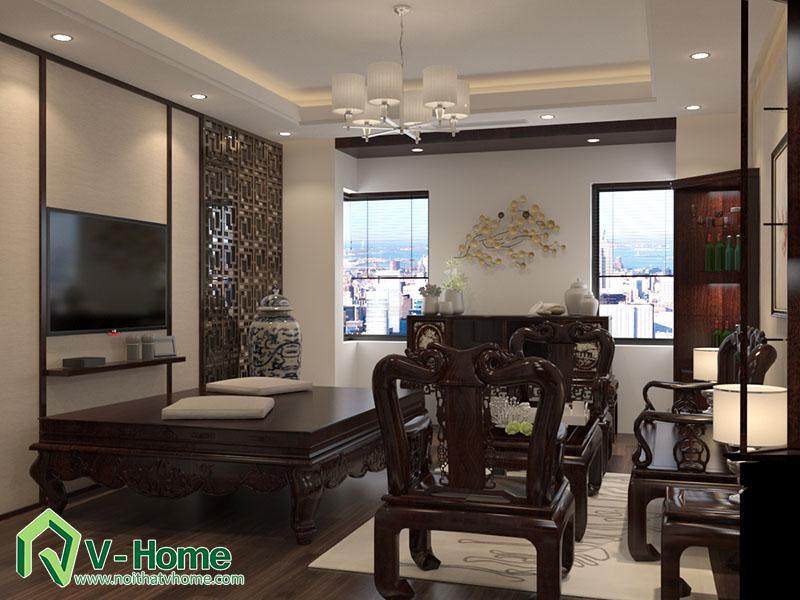 thiet-ke-kien-truc-noi-that-biet-thu-van-phu-8 Thiết kế kiến trúc, nội thất biệt thự Khu đô thị mới Văn Phú