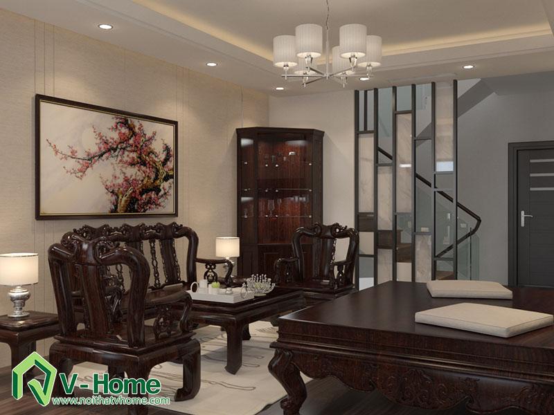 thiet-ke-kien-truc-noi-that-biet-thu-van-phu-9 Thiết kế kiến trúc, nội thất biệt thự Khu đô thị mới Văn Phú