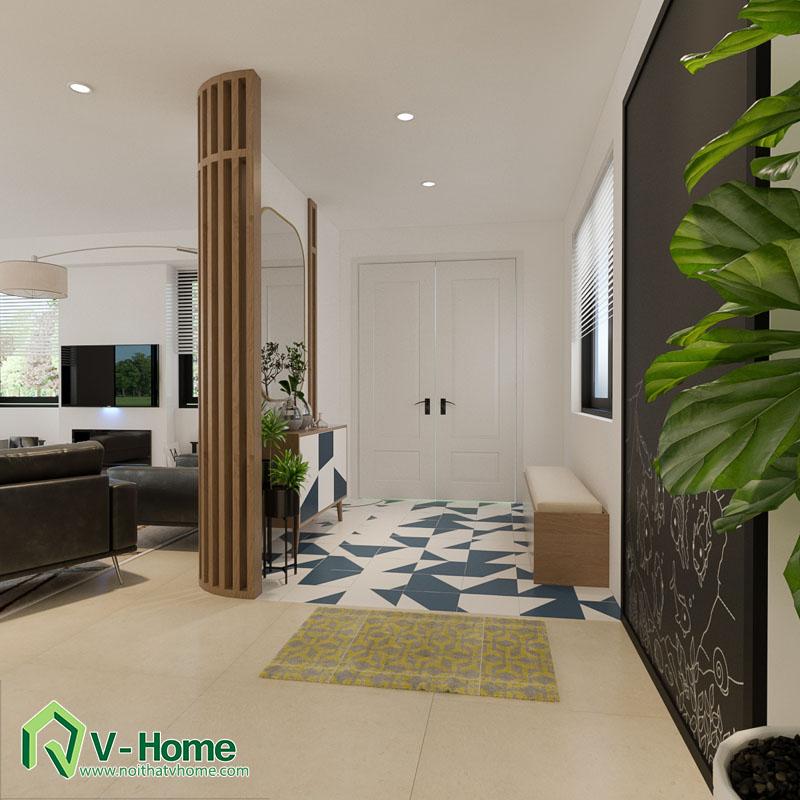 thiet-ke-noi-that-biet-thu-nghi-duong-3 Thiết kế nội thất biệt thự Long Biên, Hà Nội - A. Minh