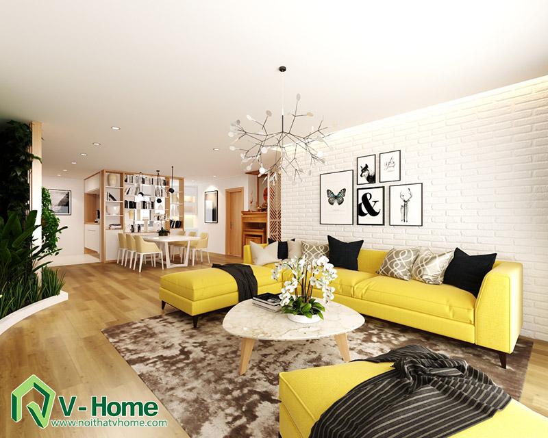 thiet-ke-noi-that-mipec-long-bien-1 Thiết kế nội thất chung cư Mipec Riverside Long Biên