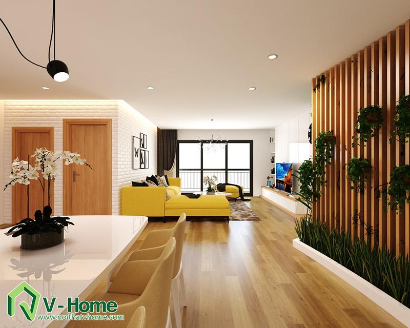 thiet-ke-noi-that-mipec-long-bien-2 Thiết kế nội thất chung cư Mipec Riverside Long Biên