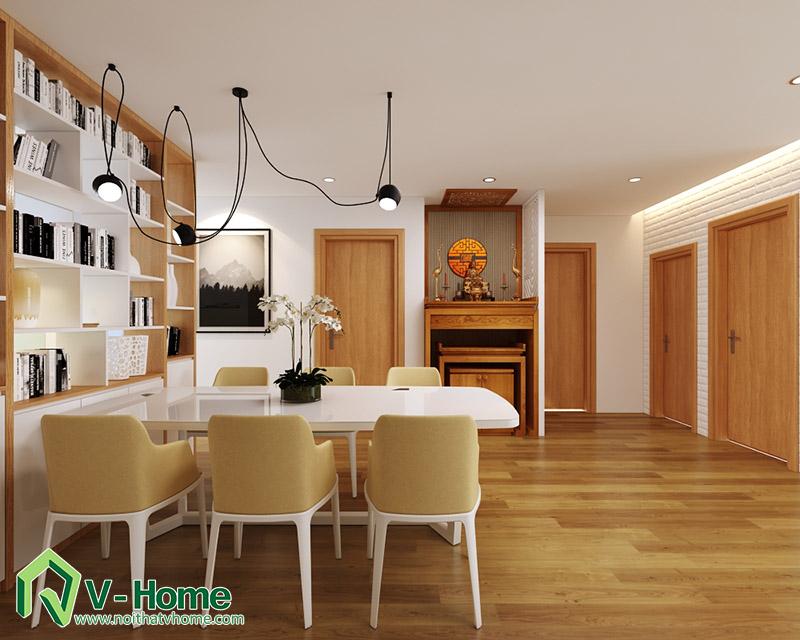 thiet-ke-noi-that-mipec-long-bien-3 Thiết kế nội thất chung cư Mipec Riverside Long Biên
