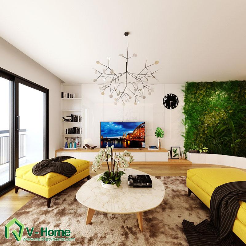 thiet-ke-noi-that-mipec-long-bien-5 Thiết kế nội thất chung cư Mipec Riverside Long Biên