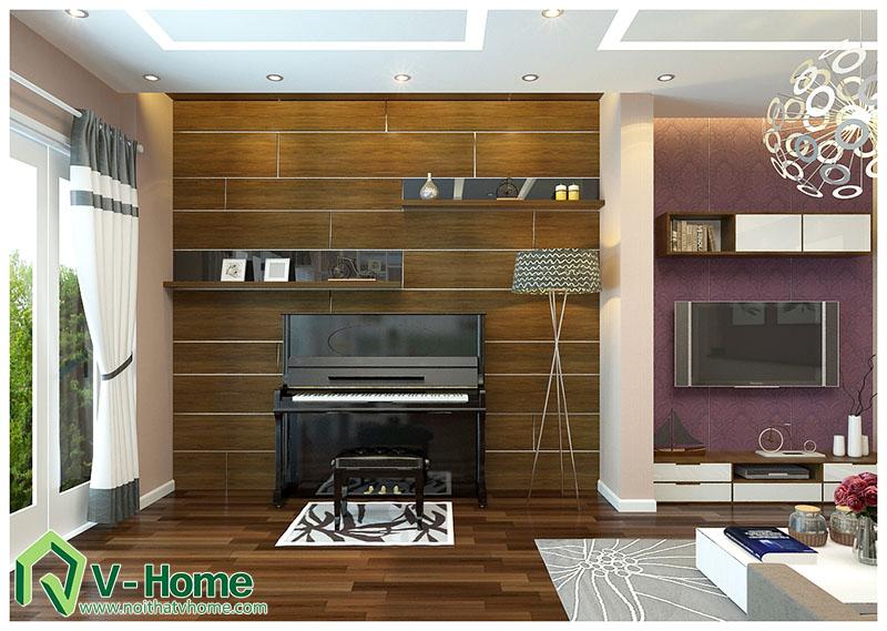 thiet-ke-noi-that-nha-199-thuy-khue-5 Thiết kế nội thất nhà lô phố Thụy Khuê - A. Chính