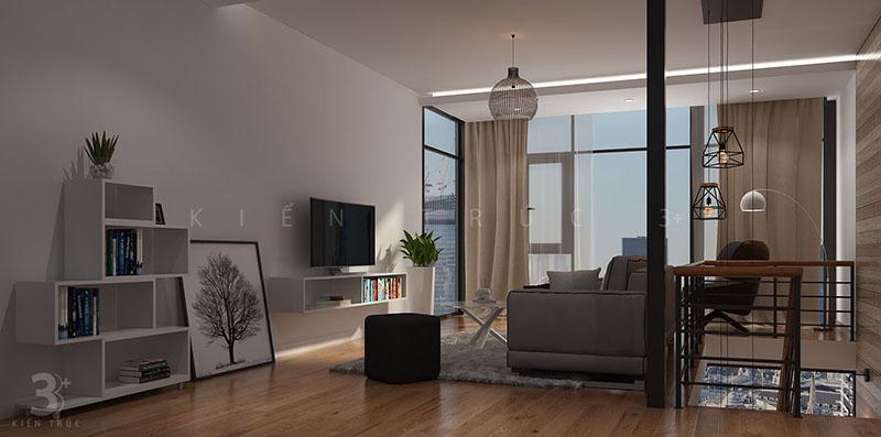 thiet-ke-noi-that-nha-219-thuy-khue-3 Thiết kế nội thất phòng khách nhà lô phố Thụy Khuê