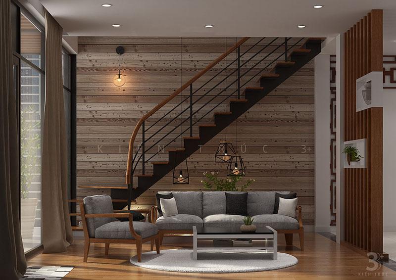 thiet-ke-noi-that-nha-219-thuy-khue-5 Thiết kế nội thất phòng khách nhà lô phố Thụy Khuê