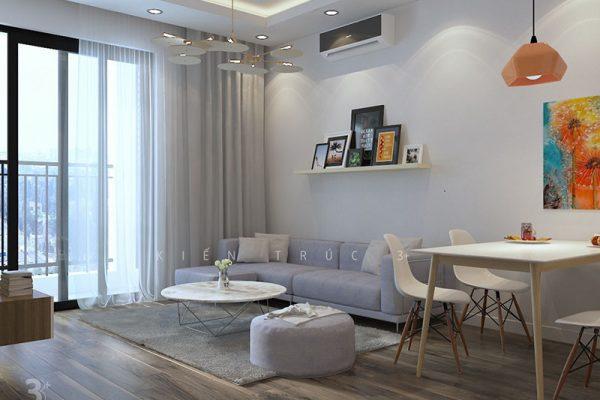 thiết kế nội thất chung cư Park Hill Minh Khai