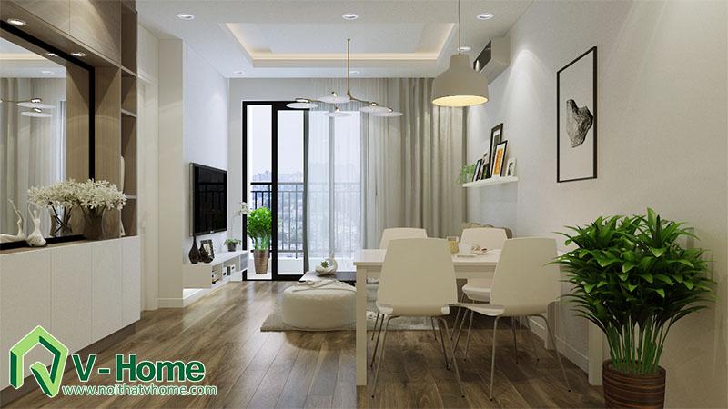 thiet-ke-noi-that-nha-a-hai-4 Thiết kế nội thất chung cư Park Hill Minh Khai, Hoàng Mai - A Hải