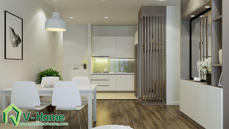 thiet-ke-noi-that-nha-a-hai-5 Thiết kế nội thất chung cư Park Hill Minh Khai, Hoàng Mai - A Hải