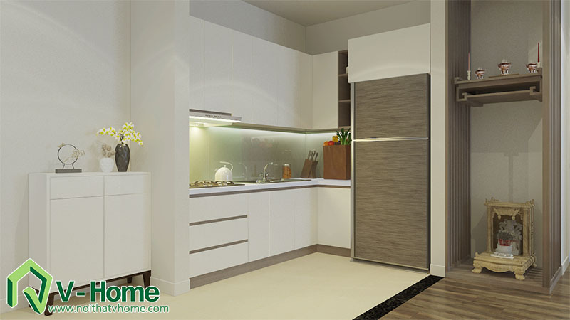 thiet-ke-noi-that-nha-a-hai-6 Thiết kế nội thất chung cư Park Hill Minh Khai, Hoàng Mai - A Hải