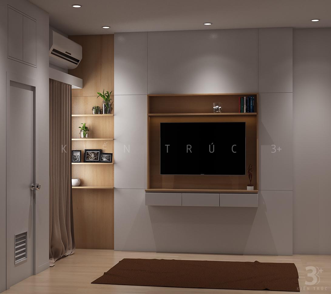 thiet-ke-noi-that-nha-chi-huong-1 Thiết kế nội thất phòng ngủ chung cư Goldmark City 136 Hồ Tùng Mậu - C Hường