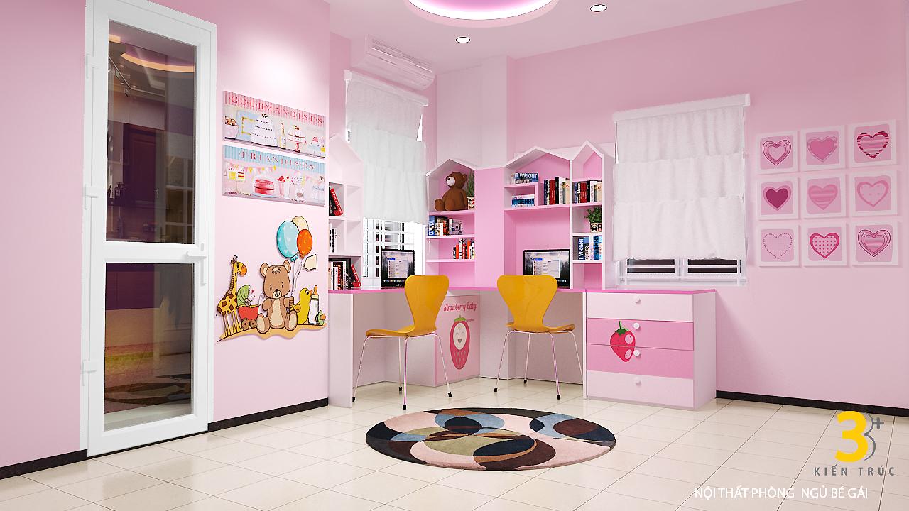 thiet-ke-noi-that-nha-chi-huong-6 Thiết kế nội thất phòng ngủ chung cư Goldmark City 136 Hồ Tùng Mậu - C Hường