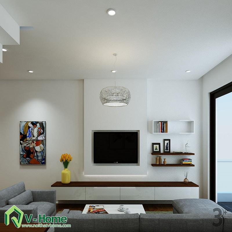 thiet-ke-noi-that-nha-so1-le-duan-1 Thiết kế nội thất nhà lô phố Lê Duẩn