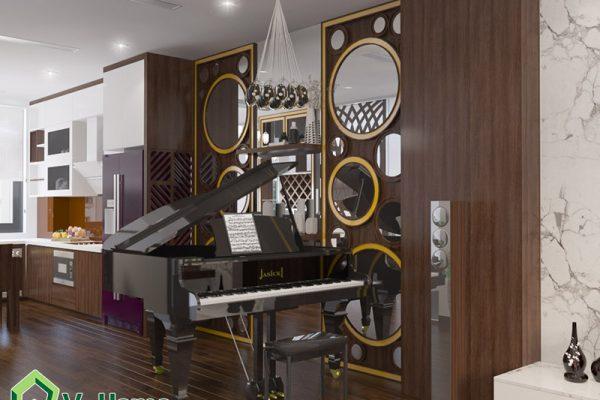Thiết kế nội thất Shophouse Vinhomes Gardenia