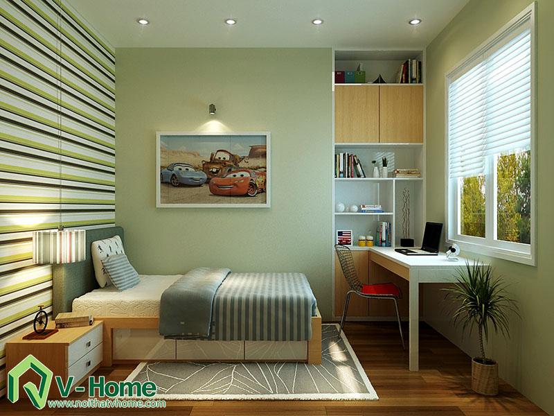 thiet-ke-phong-ngu-master-220-pho-hue-6 Thiết kế nội thất nhà lô phố 220 Phố Huế