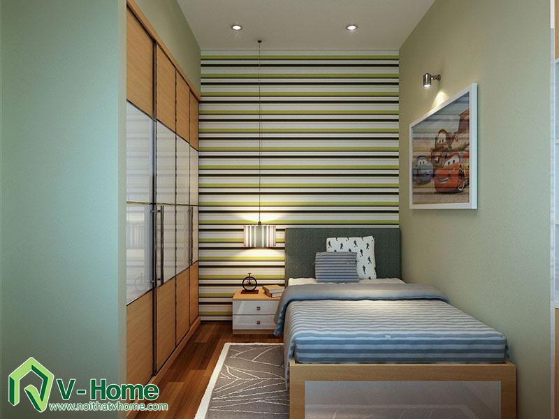 thiet-ke-phong-ngu-master-220-pho-hue-7 Thiết kế nội thất nhà lô phố 220 Phố Huế