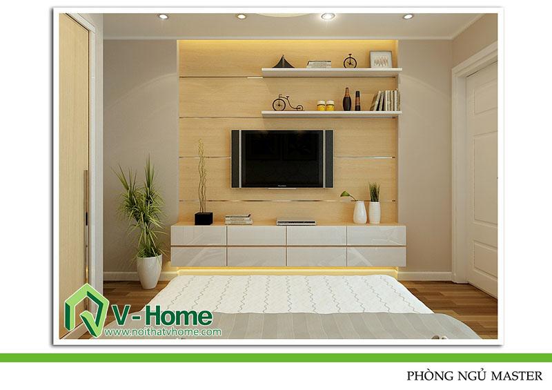 thiet-ke-phong-ngu-master-220-pho-hue-8 Thiết kế nội thất nhà lô phố 220 Phố Huế