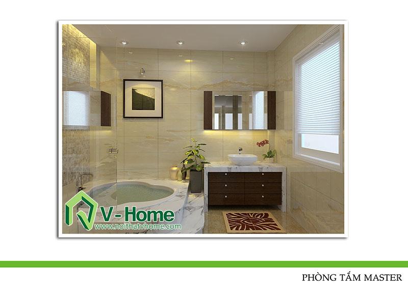 thiet-ke-phong-tam-220-pho-hue-10 Thiết kế nội thất nhà lô phố 220 Phố Huế